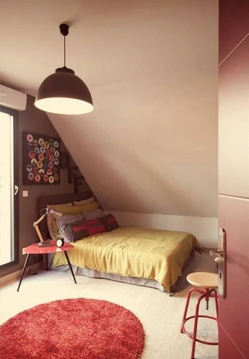 Confidentiel: Chambre d'enfant de style de style eclectique par Ludlow Interior