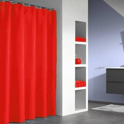 duschvorhang baumwolle polyester mit wasserfester beschichtung von bad und baden homify. Black Bedroom Furniture Sets. Home Design Ideas