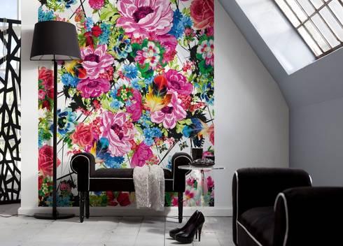 Muster Und Texturen Für Die Wand