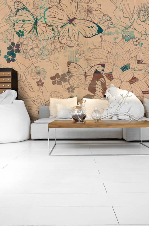 Nuova collezione: Pareti & Pavimenti in stile in stile Asiatico di Inkiostro Bianco