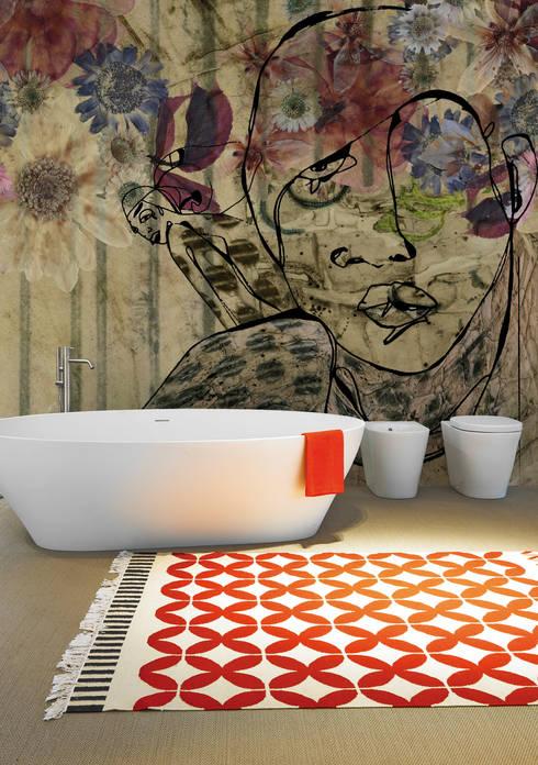 Nuova collezione: Pareti & Pavimenti in stile  di Inkiostro Bianco