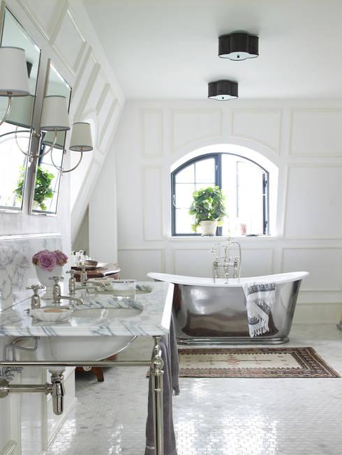 Drummonds Case Study: European Retreat, Denmark:  Bathroom by Drummonds Bathrooms