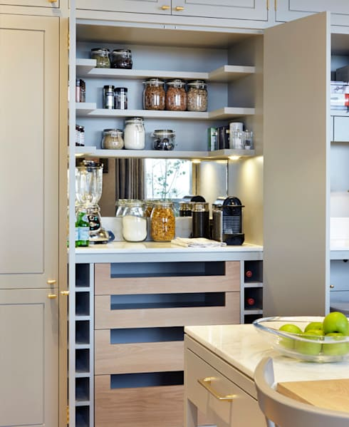 Kitchen تنفيذ De Rosee Sa