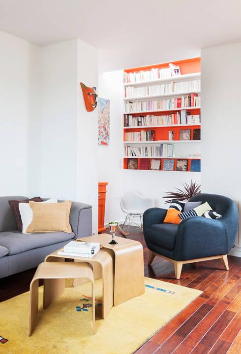 bibliotheque: Salon de style  par goodnova godiniaux