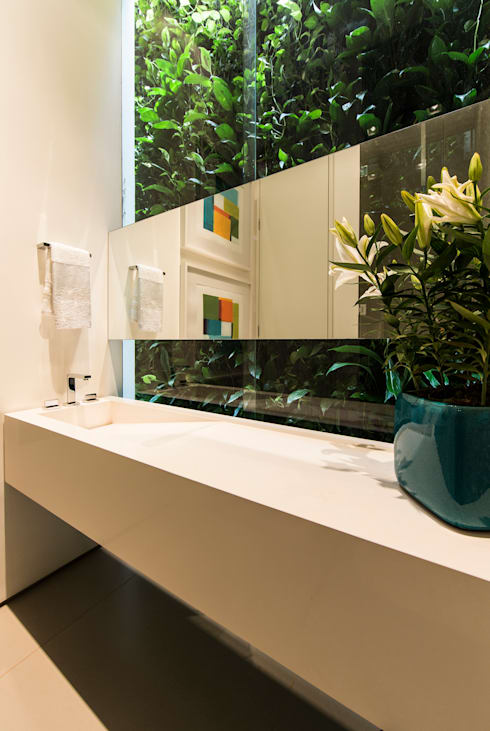 Felipe Bueno Arquitetura의  욕실