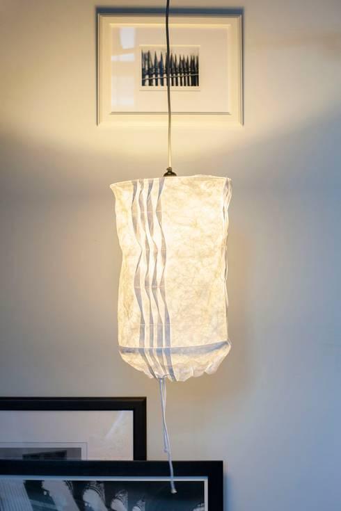 Lampa z kolekcji WTW: styl , w kategorii Salon zaprojektowany przez Pink Pug Design