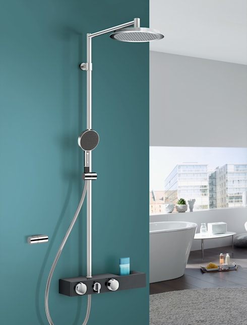 Inloopdouches: moderne Badkamer door HANSA ARMATUREN  BELGIUM NV