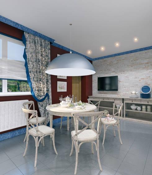 Kitchen by Студия дизайна и декора Алины Кураковой