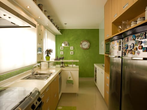 Cozinha: Cozinhas clássicas por Flávia Brandão - arquitetura, interiores e obras
