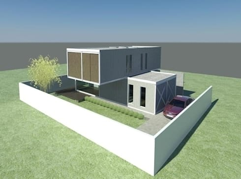 Casa container inside box por estudio ark it homify - Casas container espana ...