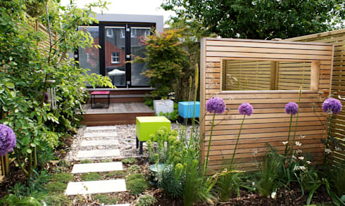 wargrave contemporary english garden by rosemary coldstream garden design limited homify. Black Bedroom Furniture Sets. Home Design Ideas