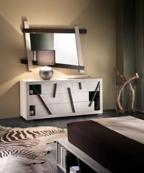 Dormitorios de estilo  por Rattania GmbH