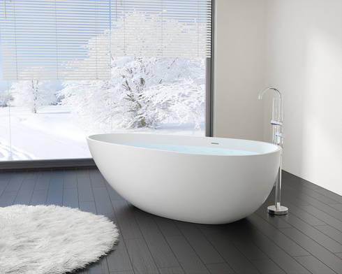 Freistehende badewanne maße  Freistehende Badewannen von Badeloft von Badeloft GmbH | homify