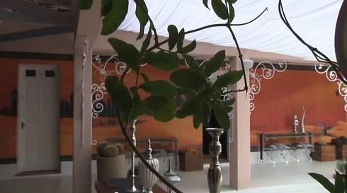 Praça Casa Cor e  Oásis: Casas minimalistas por Mauro Contesini Paisagismo.The Gardener Place