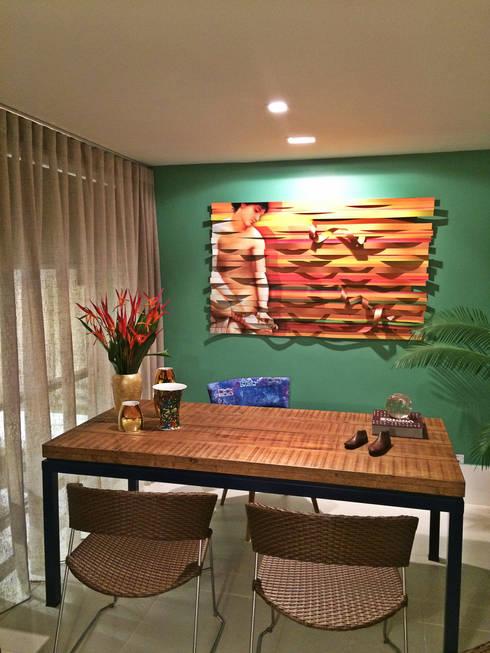 HOME+OFFICE+HOME : Escritório e loja  por Fabio Pantaleão Arquitetura+Interiores