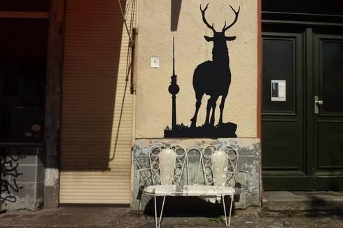 urban wall art wandsticker von urban art berlin homify. Black Bedroom Furniture Sets. Home Design Ideas