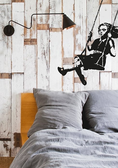 eclectic Bedroom by Urban ART Berlin