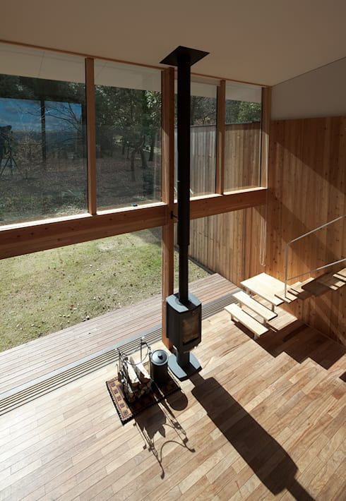 House-Sim: 伊藤憲吾建築設計事務所が手掛けた廊下 & 玄関です。
