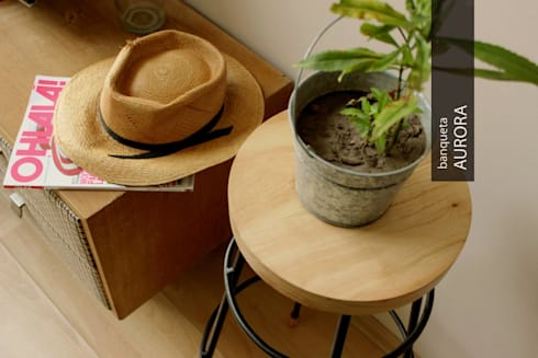 Muebles de estilo Panal: Livings de estilo escandinavo por PANAL
