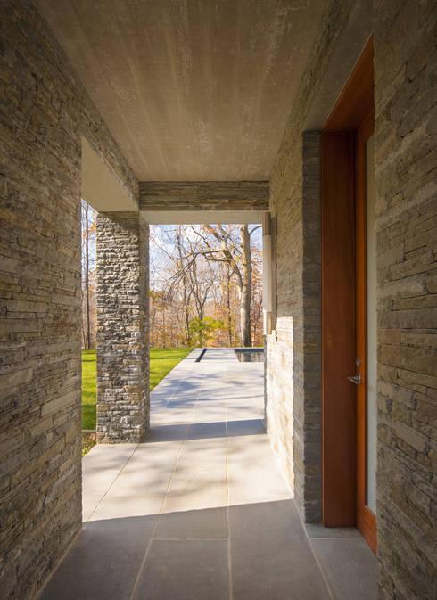 Projekty,  Domy zaprojektowane przez Robert Gurney Architect