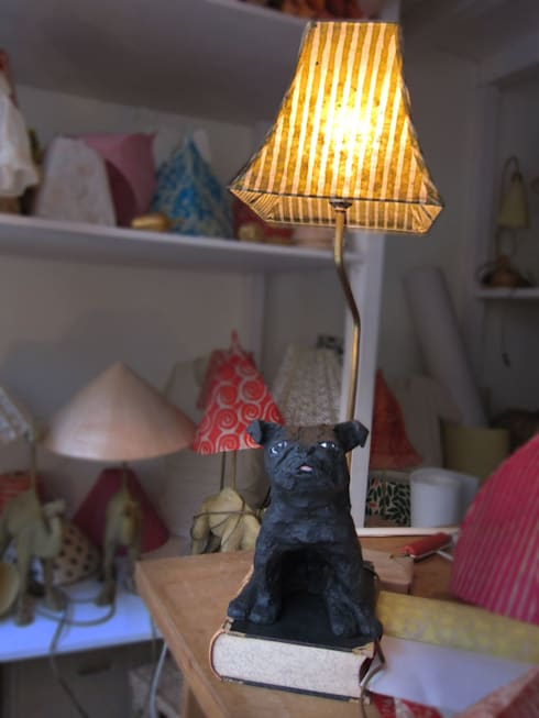 tischlampen von lori rosenberg lampen homify. Black Bedroom Furniture Sets. Home Design Ideas