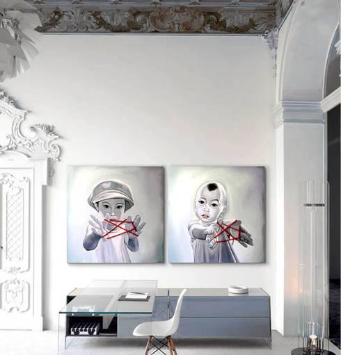 tienda online cuadros: Arte de estilo  de ESTUDIO DELIER