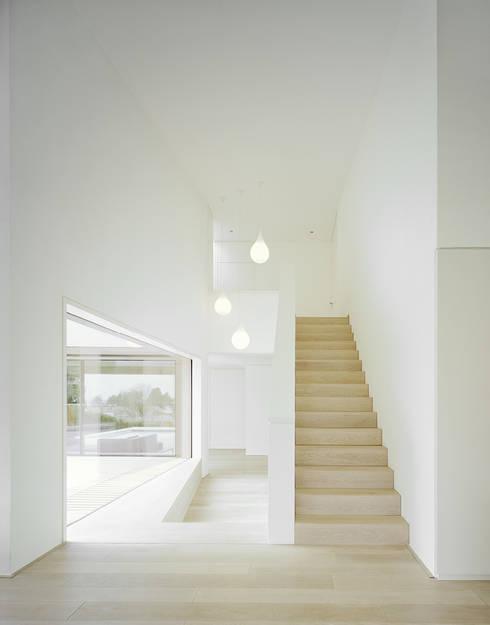 Corridor & hallway by steimle architekten