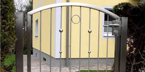 tore gartentore von stalmach group homify. Black Bedroom Furniture Sets. Home Design Ideas