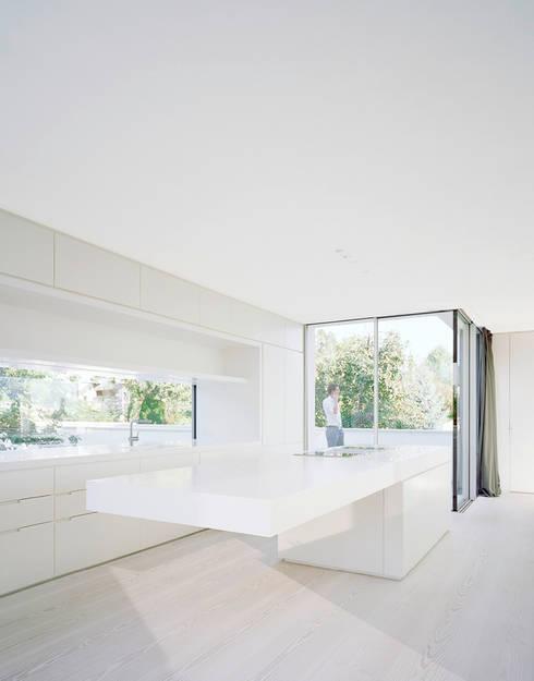 Projekty,  Kuchnia zaprojektowane przez steimle architekten