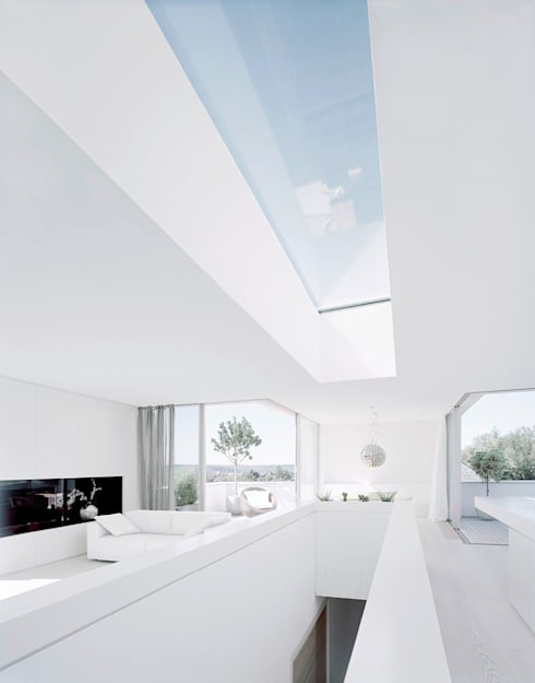 Projekty,  Salon zaprojektowane przez steimle architekten