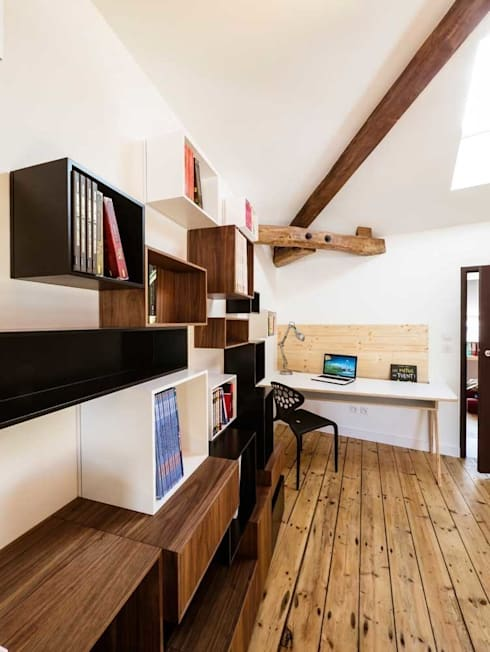 Dormitorios infantiles de estilo moderno de Lautrefabrique