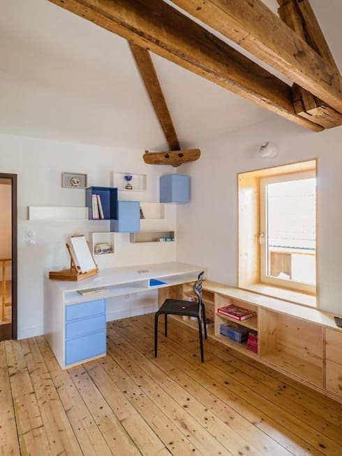 Habitaciones infantiles de estilo  de Lautrefabrique