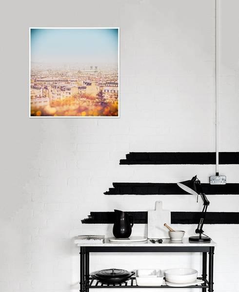 The Roof of Paris Poster: landhausstil Arbeitszimmer von JUNIQE