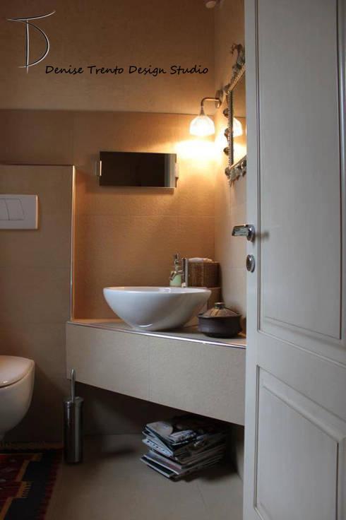 Bagno Degli Ospiti In Casa Privata By Denise Trento Design