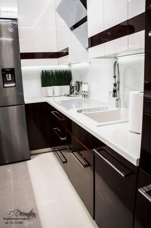 Mieszkanie w Wysokim Mazowiecku : styl , w kategorii Kuchnia zaprojektowany przez EnDecoration