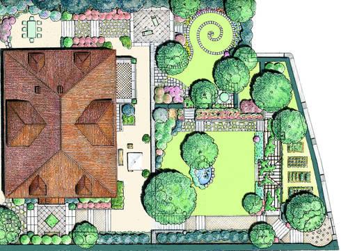 Una chiocciola nel prato di massimo semola for Disegnare giardini
