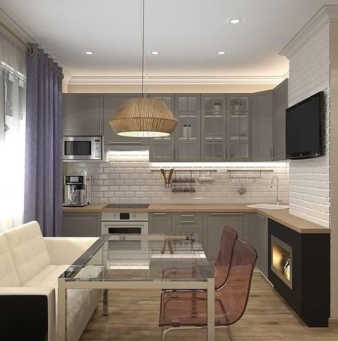 Квартира в Орехово: Кухни в . Автор – Design