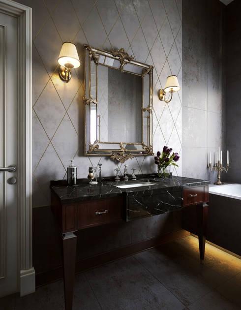 Projekty,  Łazienka zaprojektowane przez Sergey Artiomov