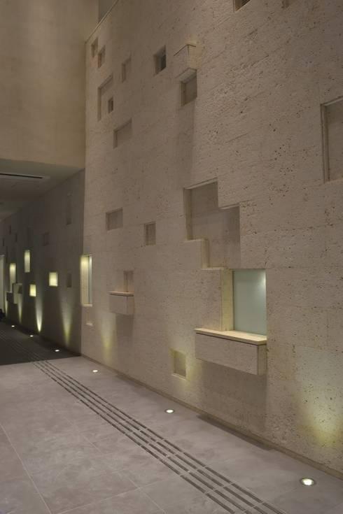 .: 一級建築士事務所 mino archi- labが手掛けた壁です。