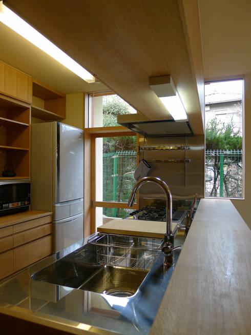 ห้องครัว by 風建築工房