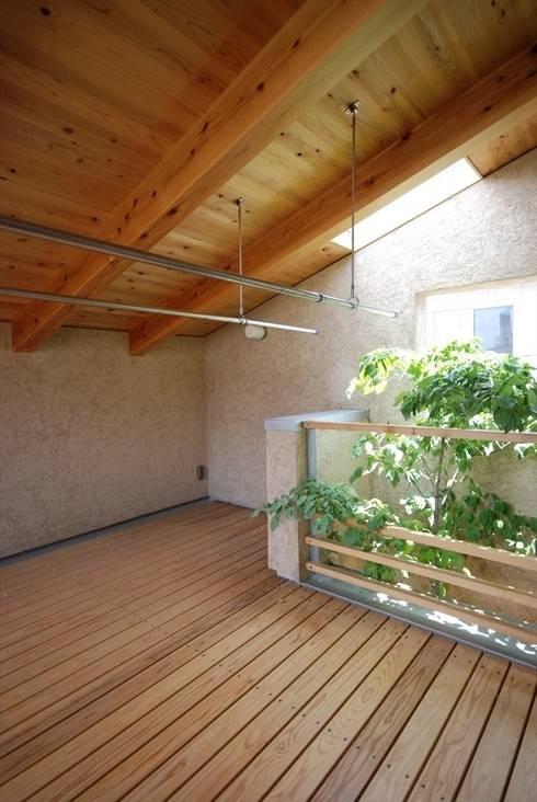 神谷建築スタジオ의  베란다