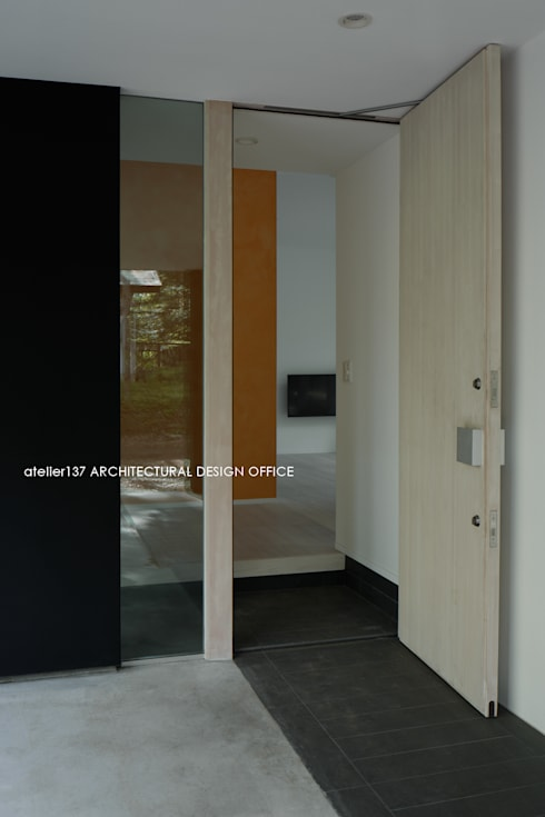 036軽井沢Kさんの家: atelier137 ARCHITECTURAL DESIGN OFFICEが手掛けた窓です。