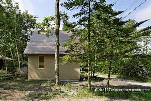 031軽井沢Tさんの家: atelier137 ARCHITECTURAL DESIGN OFFICEが手掛けた家です。