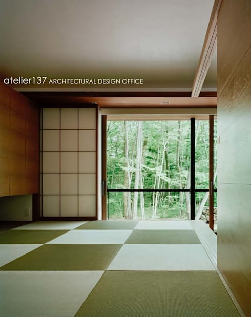 視聽室 by atelier137 ARCHITECTURAL DESIGN OFFICE