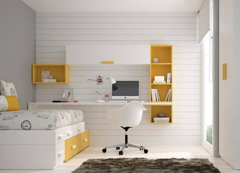 Mobiliario juvenil por kimobel homify - Disenar dormitorio juvenil ...