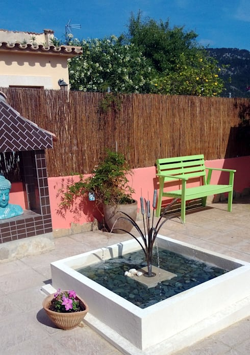 Jardín de estilo  por Metallic Garden