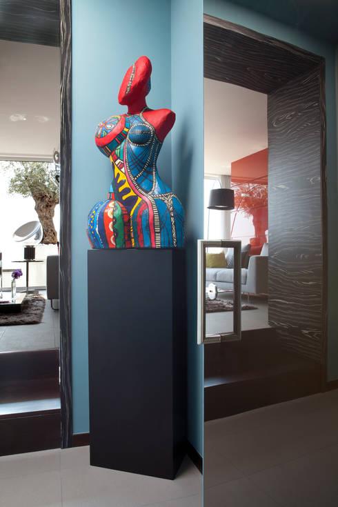 Particolare Ingresso: Ingresso, Corridoio & Scale in stile  di PDV studio di progettazione