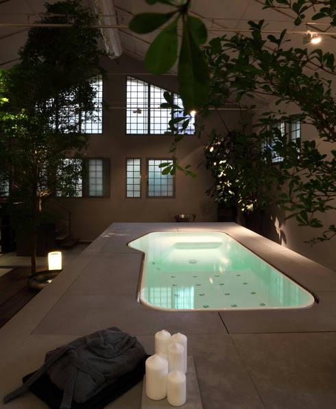 Baños de estilo  por Design by Torsten Müller
