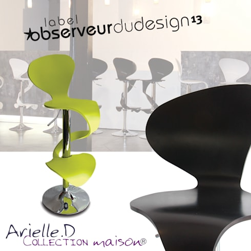 Chaise de bar lilly mermaid par arielle d collection for Arielle d collection maison