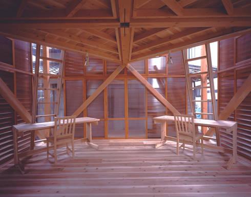 oi_mei_an: kaya+建築計画設計事務所が手掛けた子供部屋です。